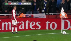 L'improbable but contre son camp de Chelsea face à Arsenal
