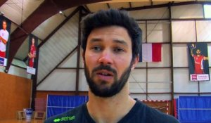 William Bersani attaquant réceptionneur Martigues Volley-Ball