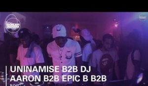 Uninamise b2b DJ Aaron b2b Epic B b2b Hitmakerchinx Boiler Room New York DJ Set