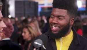 Khalid on New Music and Wanting to Collaborate with BTS | 2017 AMAs