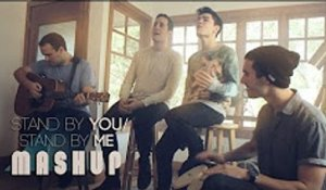 Stand By You - Stand By Me MASHUP - Sam Tsui & Casey Breves