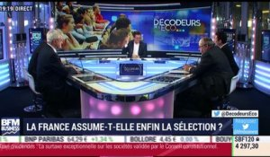 La France assume-t-elle enfin la sélection ? - 29/11