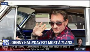 """On pensait que Johnny pourrait s'en sortir"", regrette Line Renaud, sa ""marraine"""