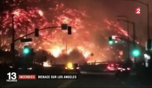 Californie : la ville de Los Angeles en alerte violette en raison de forts incendies