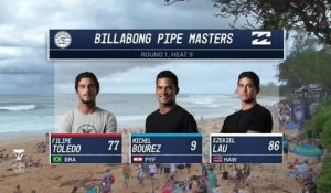 Adrénaline - Surf : 2017 Billabong Pipe Masters- Round One, Heat 9