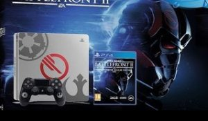 UNBOXING PS4 ÉDITION STAR WARS BATTLEFRONT II