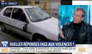 """Quand on agresse un policier, on doit aller en prison"", demande Alliance Police"