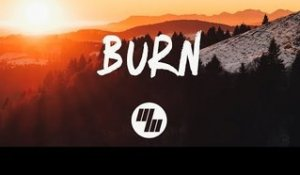 Marnik - Burn ft. Rookies (Lyrics / Lyric Video) Ryan Riback Remix