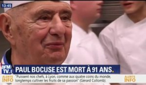 Mort du grand chef lyonnais Paul Bocuse, les étapes de son ascension