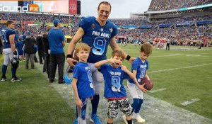 Pro Bowl 'Sound FX': Brees tries to get sons to watch game, but they're not having it