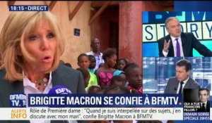Brigitte Macron accorde une interview exclusive à BFMTV