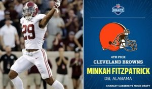 Charley Casserley's first mock draft of 2018