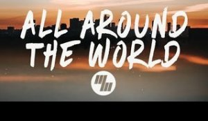 BRKLYN - All Around The World (Lyrics / Lyric Video) feat. Lenachka