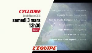 bande-annonce - CYCLISME - Strade Bianche 2018