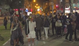 Traditionnelle Zombie Walk à Tel-Aviv - 04/03/2018