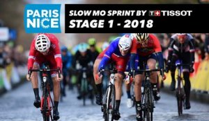 Slow Mo Sprint by Tissot - Étape 1 / Stage 1 (Chatou / Meudon) - Paris-Nice 2018