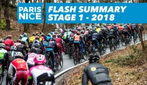 Flash Summary - Stage 1 (Chatou / Meudon)  - Paris-Nice 2018