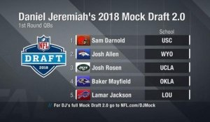 Daniel Jeremiah breaks down his 2018 Mock Draft 2.0