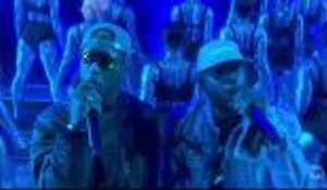 "N.E.R.D. Perform ""Lemon"" at iHeartRadio Music Awards"