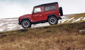 Essai Land Rover Defender V8 (2018)