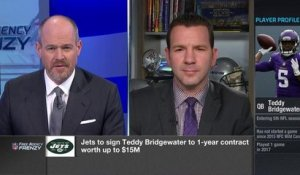 Rapoport: Teddy Bridgewater to sign 1-year deal with Jets, worth up to $15M