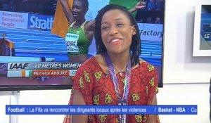 JDS- Le débrièf du journal des sports du 14 Mars 2018 par Katty Touré Kodo