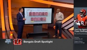 Bengals' war room: Projecting Cincy's first three draft picks