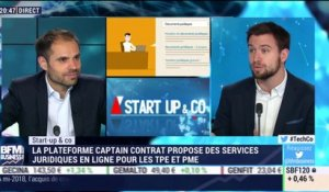Start-up & Co: Captain Contrat démocratise l'accès au droit  - 20/03