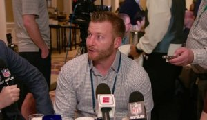 Sean McVay: We're not afraid to bring in as many good football players as possible