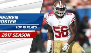 Top 10 Reuben Foster plays | 2017 season
