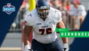 Breaking down OG Will Hernandez's college highlights