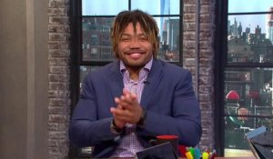 Derrius Guice: 'I know I'm a first-round running back'