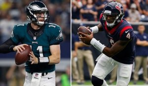 Who will perform better after injury: Carson Wentz or Deshaun Watson?