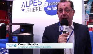 Mountain Planet 2018 - Interview de Vincent Delaitre