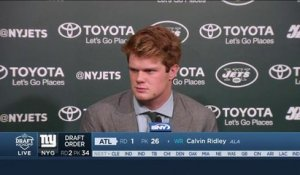 Sam Darnold on joining Jets: 'I'm going to be here for a long time'