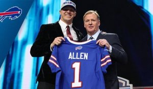 Bills select Josh Allen No. 7 in the 2018 NFL Draft