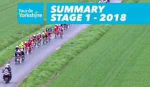 Summary - Stage 1 (Beverley / Doncaster) - Tour de Yorkshire 2018