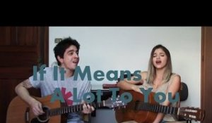 If It Means a Lot To You - A Day To Remember (Cover by Ariel and João Reggio)