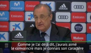"Real - Perez : ""Un grand choc"""