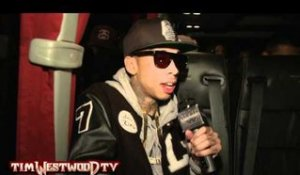 Tyga's favorite old school Hip-Hop & explaining influences interview - Westwood