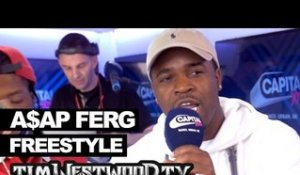 A$AP Ferg & Marty Baller freestyle backstage at Wireless - Westwood
