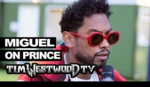 Miguel on Prince's influence - Westwood