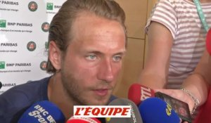 Pouille «Beaucoup de frustration» - Tennis - Roland Garros