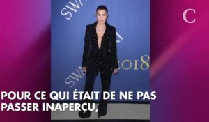Kourtney Kardashian, sexy avec un décolleté vertigineux aux CFDA Fashion Awards