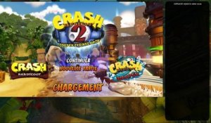 On retourne sur Crash Bandicoot 2 (13/06/2018 19:47)