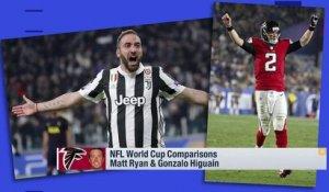 NFL-World Cup player comparison: Matt Ryan and Gonzalo Higuain