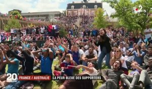 France / Australie : la peur bleue des supporters