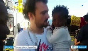 Migrants : Valence attend l'Aquarius