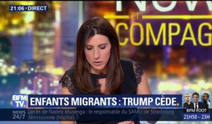 Enfants migrants: Donald Trump cède