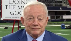 Jerry Jones: We have a quarterback I believe in